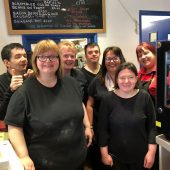 Cafe West team