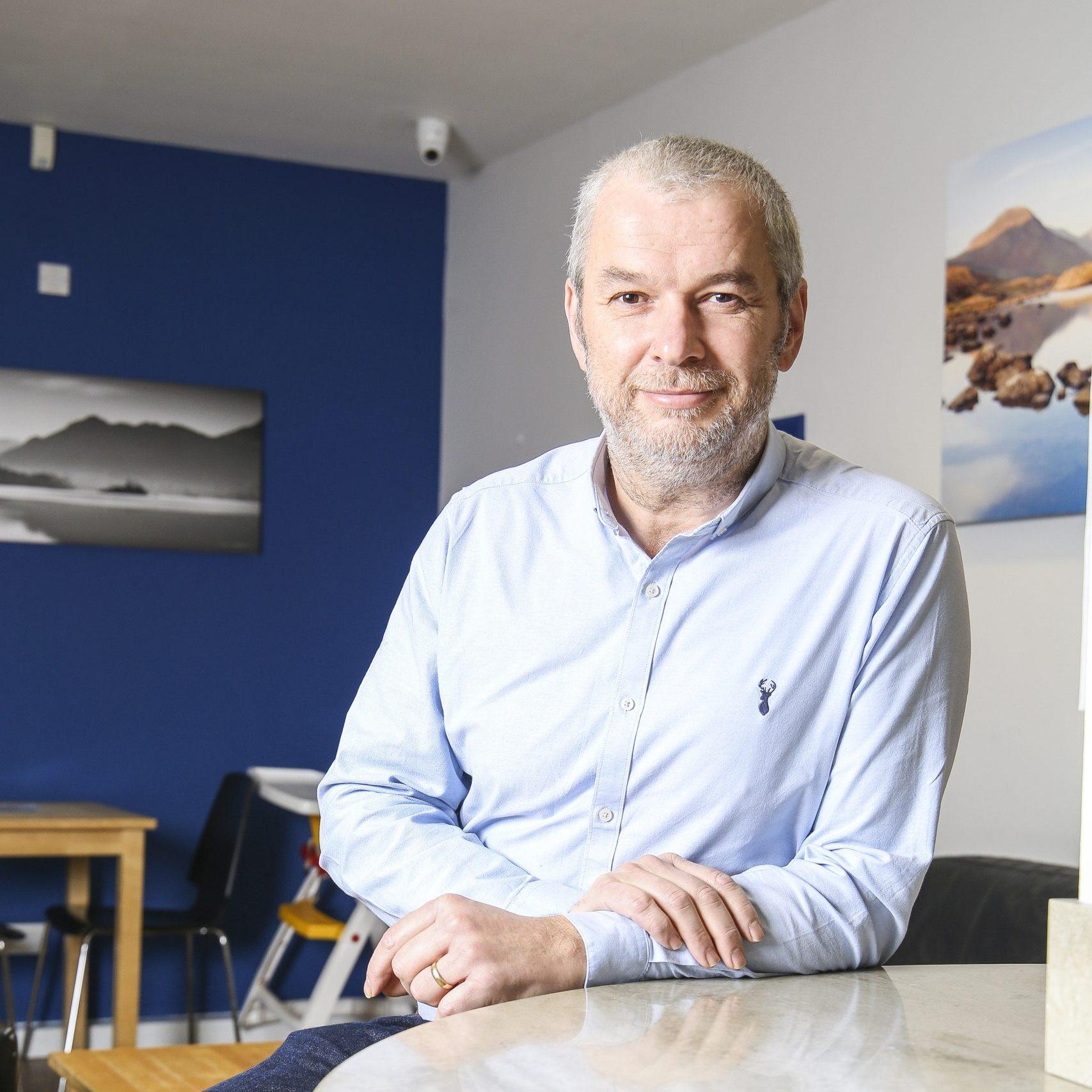James Cox, CEO